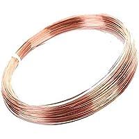 T2 - Alambre de cobre puro para experimentar la industria del bricolaje, 5 mm de grosor, 2 metros de longitud