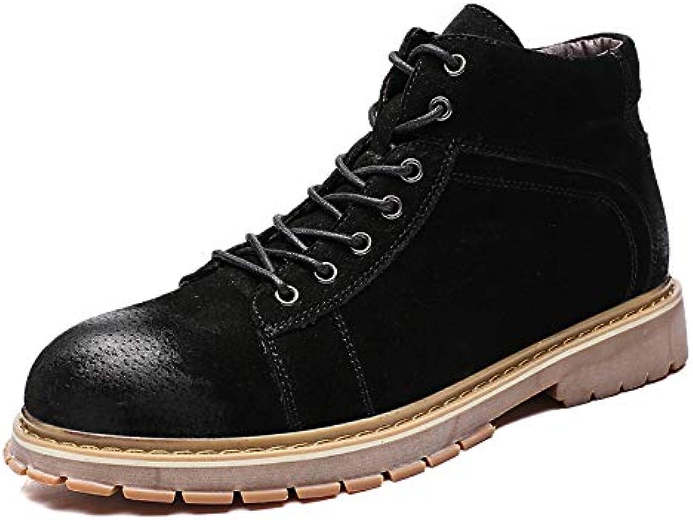 HCBYJ scarpa Stivali Tattici Alti Alti Alti da Uomo Autunno e Inverno, Stivali Tattici da Esterno Indossano Stivali Antiscivolo... | Qualità  8d04a8