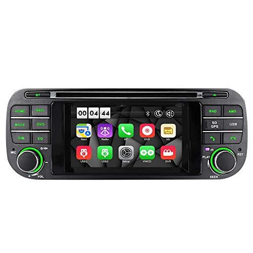 Mit 16G SD Karte Autoradio DVD GPS für Jeep Grand Cherokee Liberty Wrangler Caravan Interpid Dakota DAB RDS -