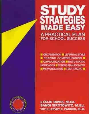 Study Strategies Made Easy( A Practical Plan for School Success)[STUDY STRATEGIES MADE EASY][Paperback]