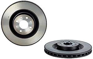 Brembo 09.A444.11 - Disque du Frein Avant avec revêtement anti-corrosion UV - Jeu de 2 disques