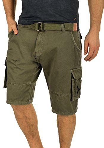 INDICODE Costa Shorts, Größe:L;Farbe:Army (600) (Army-cargo-shorts)