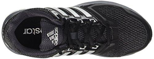 adidas Questar W, Chaussures de Running Compétition Femme Gris - grau (Cblack/Silvmt/Dkgrey)