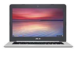 "[Ancien Modèle] Asus Chromebook C301SA-R4028 PC portable 13.3"" Full HD Gris (Intel Celeron, 4 Go de RAM, eMMC 128 Go, Chrome OS)"