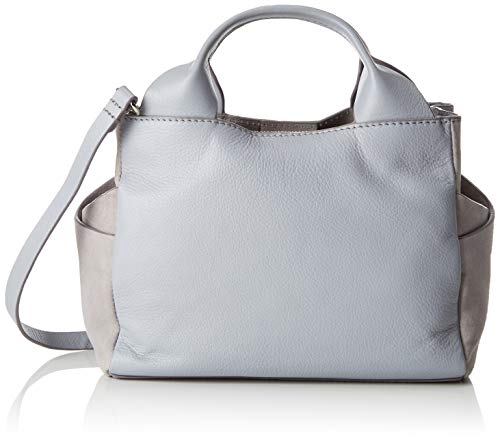 Clarks Damen Talara Wish Henkeltasche, Grau (Grey Leather), 13x20x32 cm