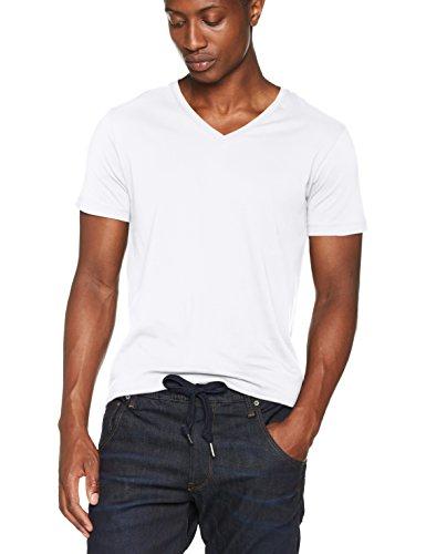 ESPRIT Herren T-Shirt 997EE2K821 Weiß (White 100), Medium