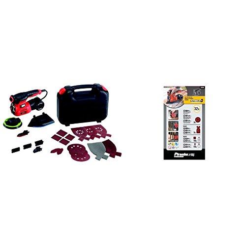 Preisvergleich Produktbild Black+Decker 2-Gang Akku-Schlagbohrschrauber + Bohrer- und Schrauberbit-Set (109-teiliges, Metall-; Holz-und Steinbohrer, Stecknüsse, Bits, Senker)