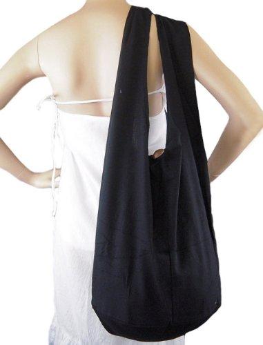 BenThai Products, Borsa a tracolla donna Nero (nero)