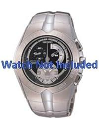 Correa de reloj de Seiko 7l22 0aj0/SNL025P1 (no incluidos en el reloj. Correa de reloj original solamente)