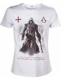 Assassin's Creed Rogue une fois un Assassin Men's T-Shirt (Grand)-Blanc