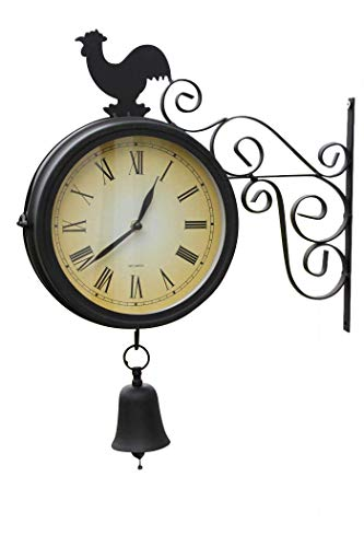 GardenMarketPlace Clock&Bell1155-20