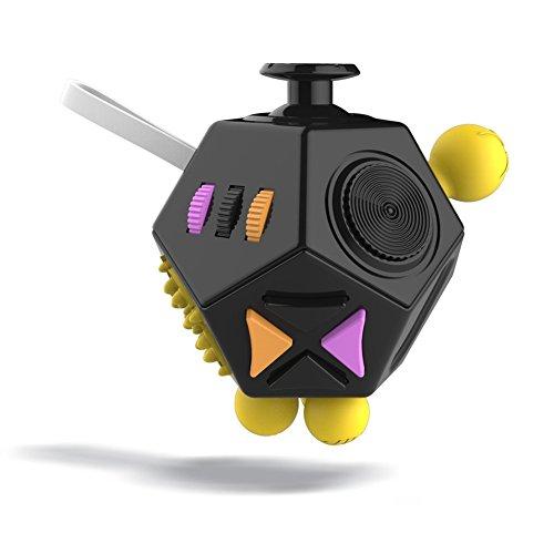 Fidget Juguetes Cubo,GZQES, Juguetes Antiestrés Cubo Mágico, Fidget Rompecabezas Cubo , Fun Juguetes Estrés Relevista, Juguete de Escritorio Mini Cubo de Juguete (Estilo G)