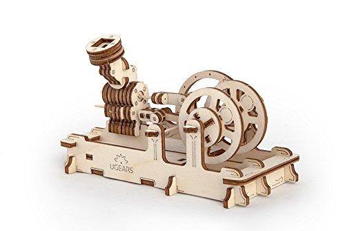 HQ Windspiration Ugears 70009 - Engine Motor, 3D-Holzbausatz ohne Klebstoff