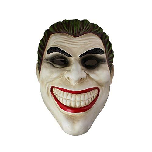 Kostüm Batman Joker Knight Dark Kinder - SEJNGF Hochwertiges Harz Clown Batman Dark Knight Joker Erwachsenenhandbuch Requisite Filmcharaktere Dress Up Kostüm