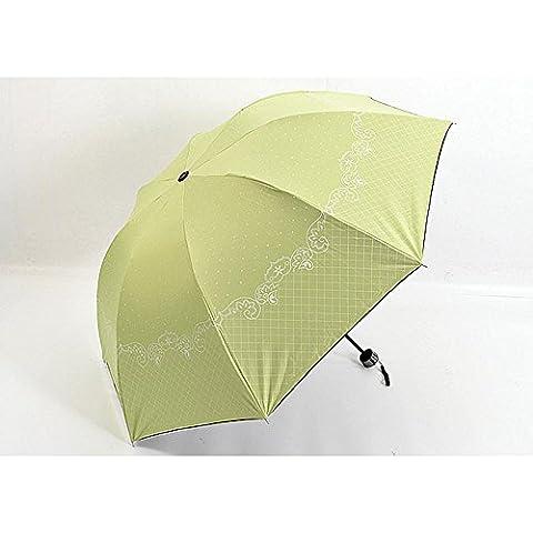 Nueva princesa paraguas arco Apolo negro caucho sol paraguas paraguas claro sombrilla , 4