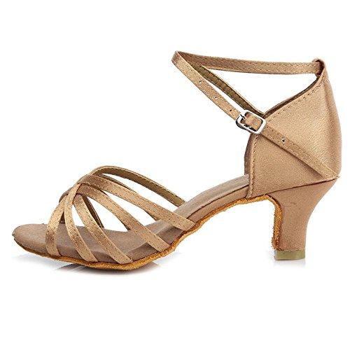 Chaussures De Danse De Femme Swdzm / Standard Chaussures De Danse Latine Modèle-es-513 Salle De Bal Noir + Rouge 36 Eu KMdCUGq