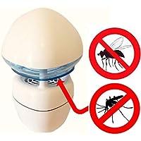 MoustiqueSolutions Boréale Anti-Moustiques You Get In Piège de Capture Intérieur + 2 Mois de Recharge Activix Pro Résine Blanc