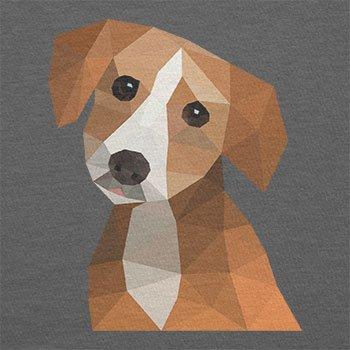 Texlab–Poligono cane–Sacchetto di stoffa Grau
