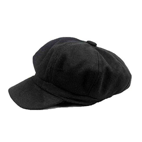 Ivy Golf Cap (Kineca Winter-Frau Barett Duckbill Ivy Cap Golf Driving Wohnung Cabbie Ballon- Hut Weihnachten)