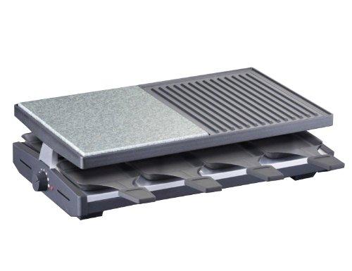 Steba RC58 Raclette mit Naturstein und Alugußplatte