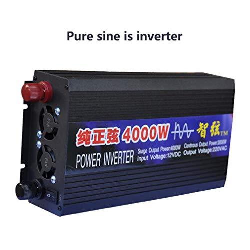 Huashao Inversor Potencia 4000W Onda sinusoidal Pura