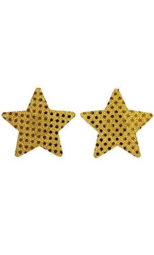 Mela Proibita Damen Nipple Cover gold gold One - Für Sexis-unterwäsche Frauen