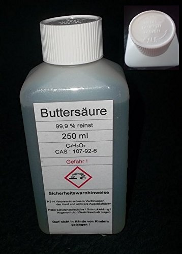 250-ml-Buttersure-999-Butansure-reinst-Angelsport-fr-Fischduft-Boilis