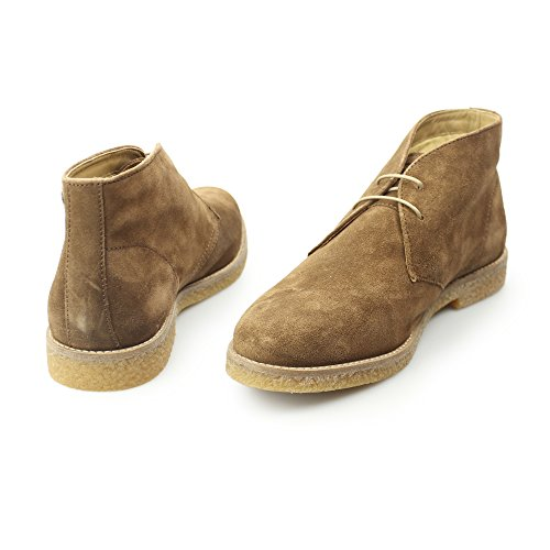 Base London Mens Charlton Suede Boots Doré