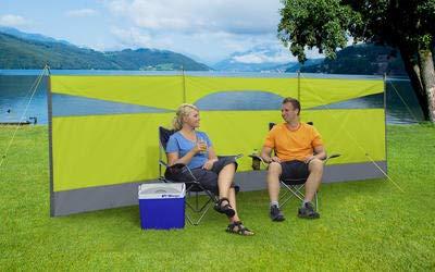 Berger Wind- und Sichtschutz Screen, grün, 500 x 140 cm, Leichter Aufbau