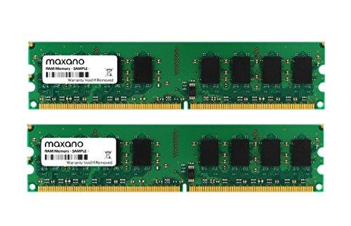 4GB Dual Channel Kit (2x 2GB) für Dell OptiPlex 320 DDR2 533MHz (PC2-4200U) Dimm Arbeitsspeicher RAM Memory - Crucial-ddr2-arbeitsspeicher Des Computers