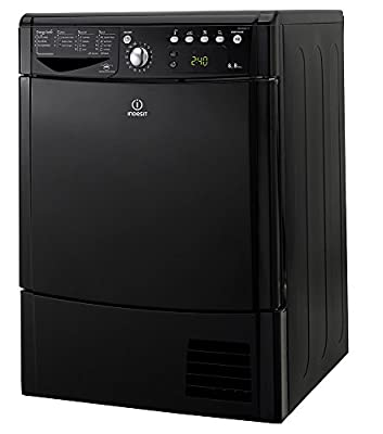 Indesit Ecotime IDCE 8450 BK H Tumble Dryer