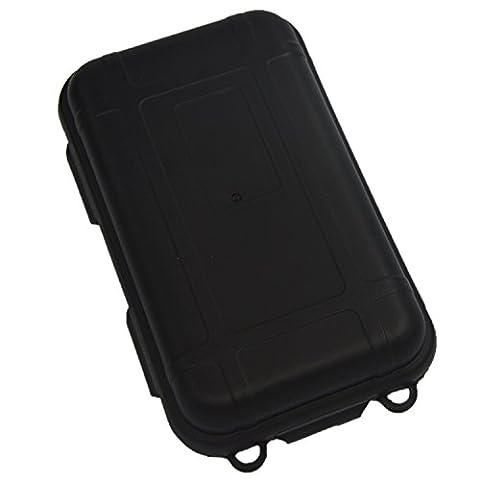 Gosear® Scellé Antichocs Étanche en Plastique Petites Boîtes W / Éponges Outdoor Gear Produit 14 x 8 x 4CM Noir