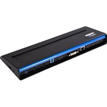Targus SuperSpeed Dual Video Station d'accueil USB 3.0 Noir