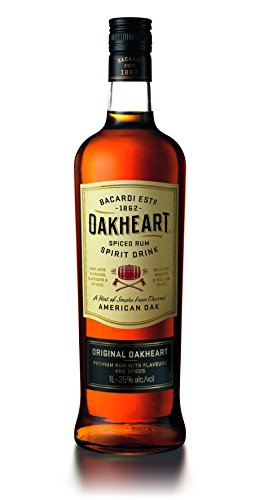 Bacardi Oakheart Spiced Rumspirituose (1 x 1 l)