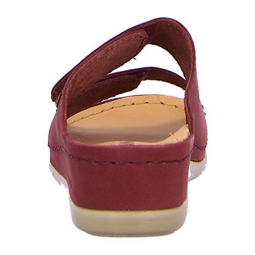 Brinkmann Damen Pantoletten gruen, 700935-7 rot