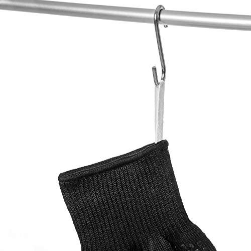 41RUuK1uO7L - Mansons Grillhandschuhe - Extrem hitzebeständige Topfhandschuhe bis 500 °C - Ofenhandschuhe für Küche & Grill - Feuerfeste Kochhandschuhe mit extra langem Unterarmschutz | Hitzeschutzhandschuhe