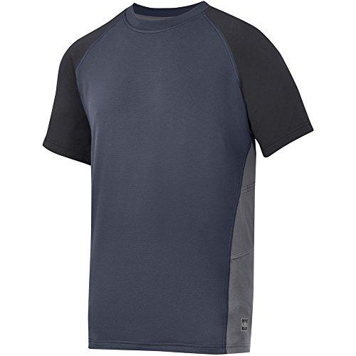 Snickers 25099504003 AVS Advanced T-Shirt Taille XS Bleu Marine/Noir