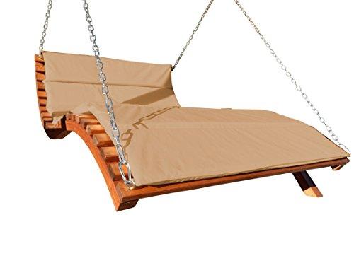 ASS Design Hollywoodliege 'Aruba-Lounger' aus Holz Lärche (ohne Gestell) von Farbe:Braun