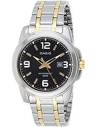 Casio Enticer Analog Black Dial Men's Watch - MTP-1314SG-1AVDF (A777)