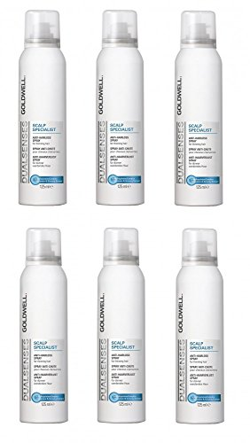Goldwell Scalp Specialist Anti-Hairloss Spray 6 x 125 ml Dualsenses gegen Haarausfall GW