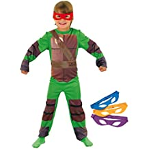 Rubie`s - Disfraz infantil de Tortugas Ninja clásico (886811-L)