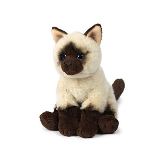 Anna Club Plüsch ACP16795 - Plüschfigur Katze Siamesisch, Sitzend 15 cm, Plüschtiere - Siamesische Katzen