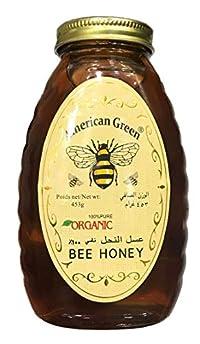 American Green Bee Honey Organic, 453g