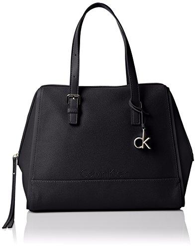 Calvin Klein Melissa Satchel, Borse Donna Black
