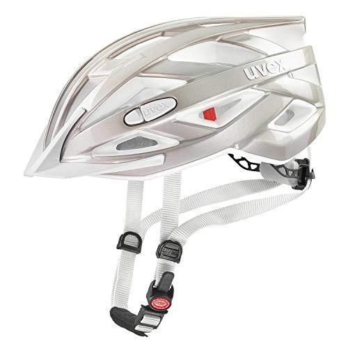 Uvex I-VO 3D Fahrrad Helm silberfarben 2019: Größe: 56-60cm