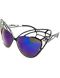 c5bda8c96fc470 Kiss Lunettes de soleil CAT EYE mod. BUTTERFLY - femme fashion FANTAISIE  vintage rockabilly