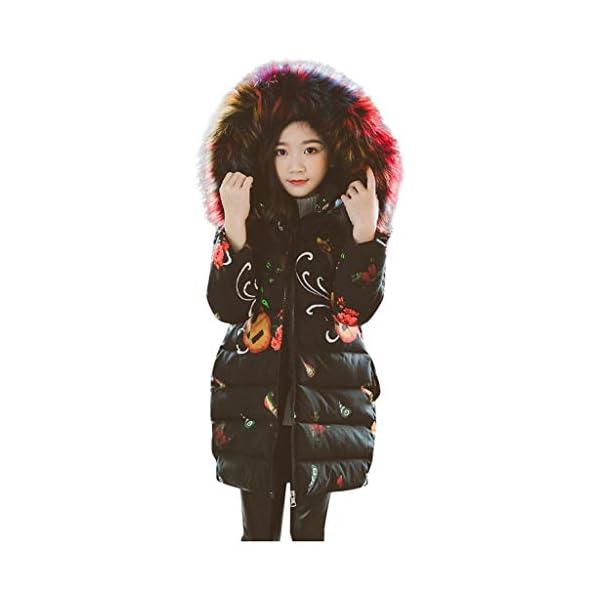 Ropa Niña, ASHOP Ropa de Bebe Niña Invierno 2019 Chaqueta con Capucha Algodón Abajo Grueso Precio Especial Jacket 8-14… 1