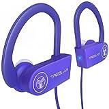 TREBLAB XR100 Bluetooth Sport Kopfhörer, Beste drahtlose Ohrhörer für das Training, geräuschunterdrückendes, schweißfestes, schnurloses Headset für Sport & Fitness, True Beats Kopfhörer mit Mikrofon