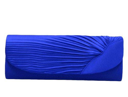Pochette pour femme de la marque Monte Lovis - Pour soirée Bleu
