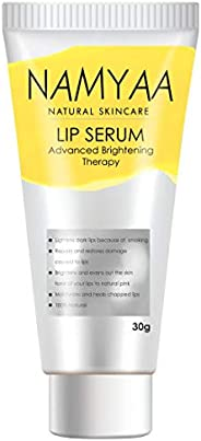 Namyaa Natural Lip Serum/Balm/Lightener/Moisturizer For Lip Lightening/Brightening/Toning/Moisturizing, 30 g